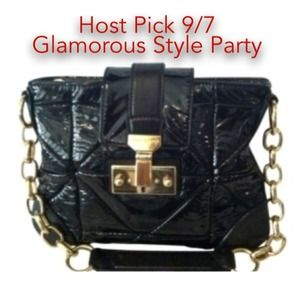 HP NWT Auth Marc Jacobs patent leather bag
