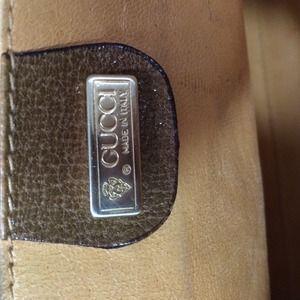 e8d8da79838a85 Gucci Bags | Vintage Shoulder Bag Leather Gold | Poshmark