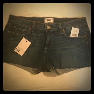 NEW WITH TAG Paige Denim Shorts