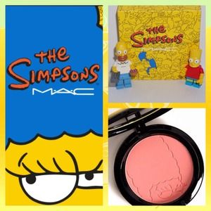 MAC Simpsons SIDESHOW YOU Coral blush Brand New