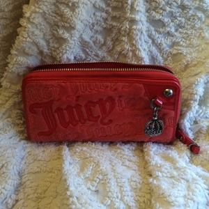 Juicy Couture Wallet (Red)