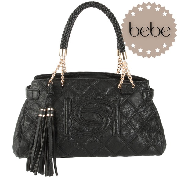 bebe Bags | Sale Black Quilted Catherine