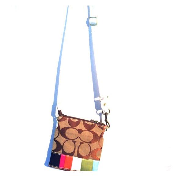 65% off Coach Handbags - Small Coach Side Bag from Sierra's closet ...