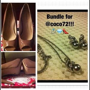 Accessories - Shoe and jewelry bundle for @coco72