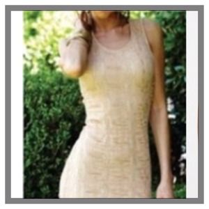 LOVERS & FRIENDS NUDE DRESS