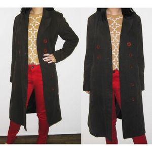 Zara Coat Brown Sz M