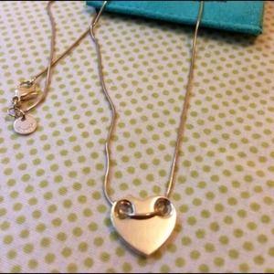 Tiffany Heart and snake chain😍