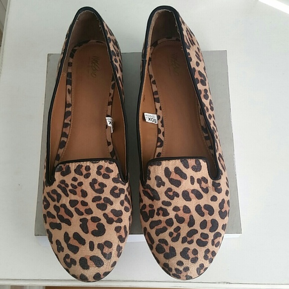Target Mossimo Leopard Print Loafers