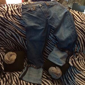 Denim Laboratory X2 Jeans (w / rhinestones)