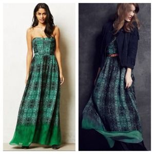 Mintzita maxi dress anthropologie