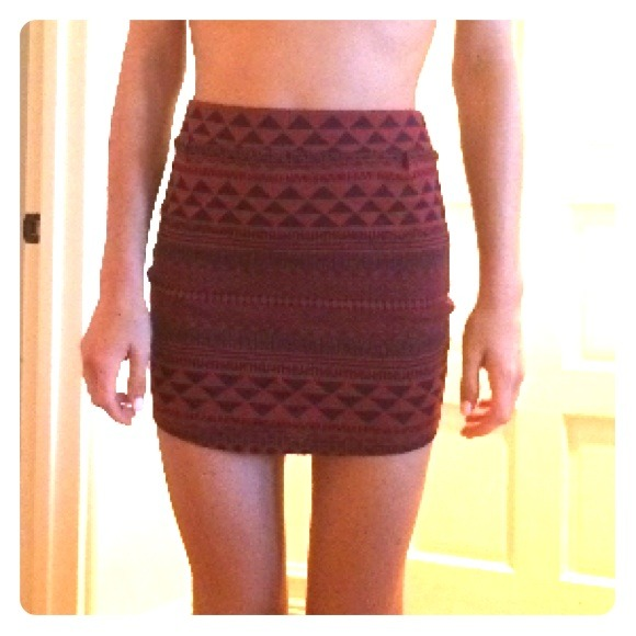 55% off Urban Outfitters Dresses & Skirts - Red and black tribal ...