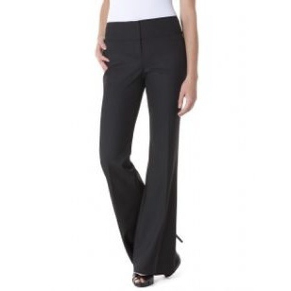 f81f1a40253da 84% off bebe Pants - Black Flare Work Pants from Ashley s closet .