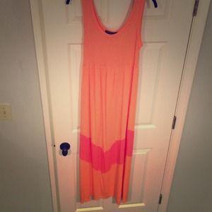 J. Crew Dresses & Skirts - Perfect Summer Chevron Maxi Dress