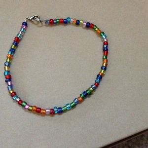 Colorful bead necklace!