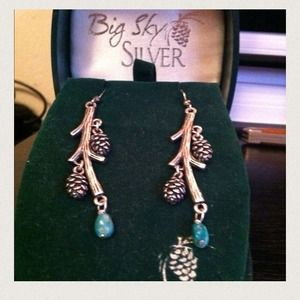 Big sky earrings