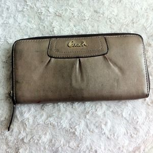 Coach legacy leather wallet