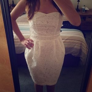 H&M white eyelet dress HOST PICK