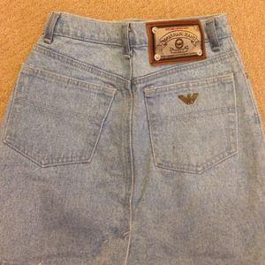 4e9121b0f armani jeans Skirts - AUTHENTIC armani jeans denim skirt