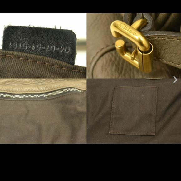 chloe bag with lock