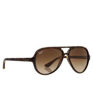 120f208d64 Ray-Ban Accessories - Authentic Ray Ban brown sunglasses style Cats 5000