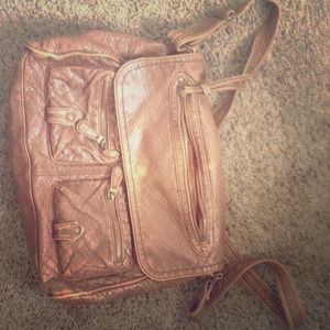 brown purse cross body