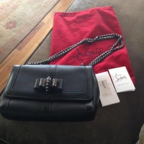 91d768c18da6 CHRISTIAN LOUBOUTIN SWEET CHARITY BAG RETAILS