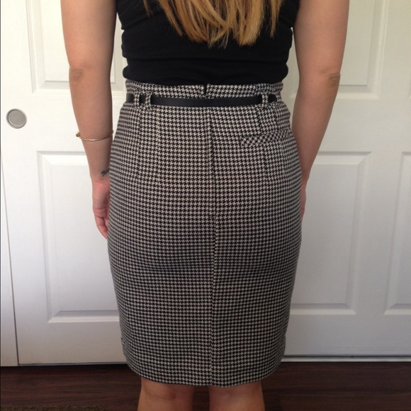 33% off H&M Dresses & Skirts - Houndstooth pencil skirt from ...
