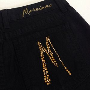 🆕 Marciano denim skirt - Brand New w/Rhinestones