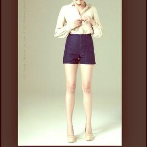 Paper Crown Pants - Paper Crown Lace Pissaro Shorts