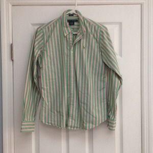 Ralph Lauren striped oxford