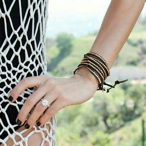 NWOT - Lulu Dharma 5 Wrap Bracelet