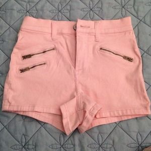 Abercrombie and Fitch high waisted shorts