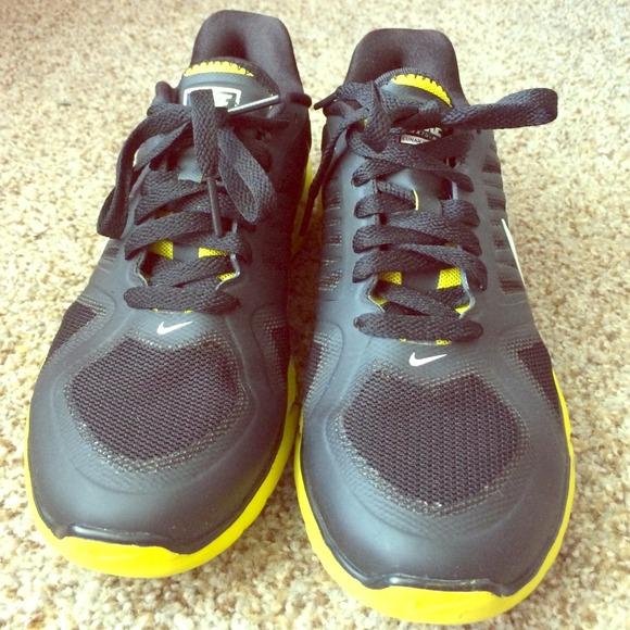 f0a801684f60 75% off Nike Shoes - Nike Lunarlon Black Neon Yellow combo from Coco s  closet on Poshmark