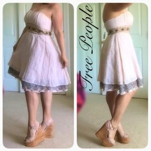 💘HOST PICK💘 NWT FREE PEOPLE STRAPLESS DRESS