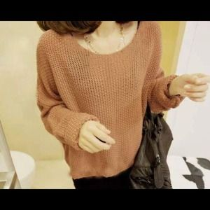 Gorgeous Khaki Batwing Sweater