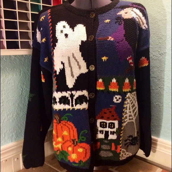 Halloween Ugly Sweater XL from Melanie's closet on Poshmark