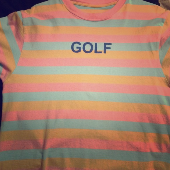 golf wang golf wang striped tee odd future from colored