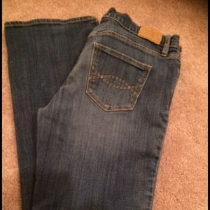 Abercrombie Embroidered Jeans