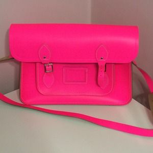 "The Cambridge Satchel Company Handbags - 15"" Fluro Cambridge Satchel"