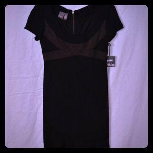 Elegant black cocktail dress!