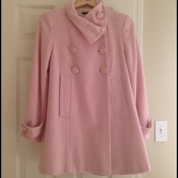 light pink coat 80 zara jackets amp blazers zara light pink pea coat 948
