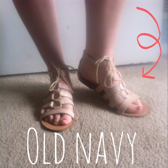 54e8ce738a7c 💕NEW OLD NAVY GLADIATOR SANDALS💕