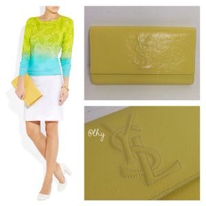 16% off Yves Saint Laurent Handbags - YSL Belle du Jour clutch ...