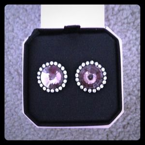 GIFTEDJuicy Couture Pink Stone Stud