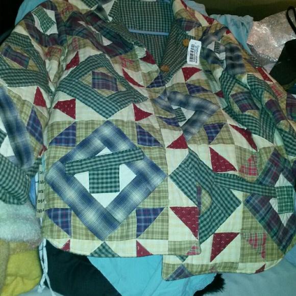 Green Velvet Patchwork Reversible Jacket