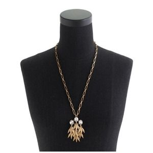 J. Crew Jewelry - Jeweled quill pendant necklace