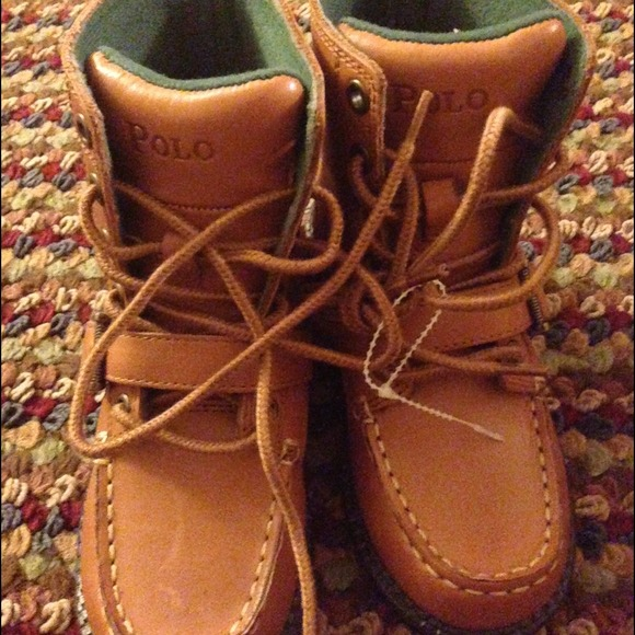 ef780e56 Brand New Toddler Boy Size 12 Polo Boots! NWT