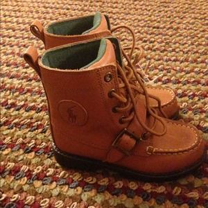 fee1441ed72 Brand New Toddler Boy Size 12 Polo Boots! NWT