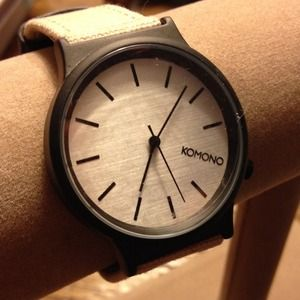 KOMONO Accessories - 🎉🎉Host Pick🎉🎉Classic KOMONO Watch NWT