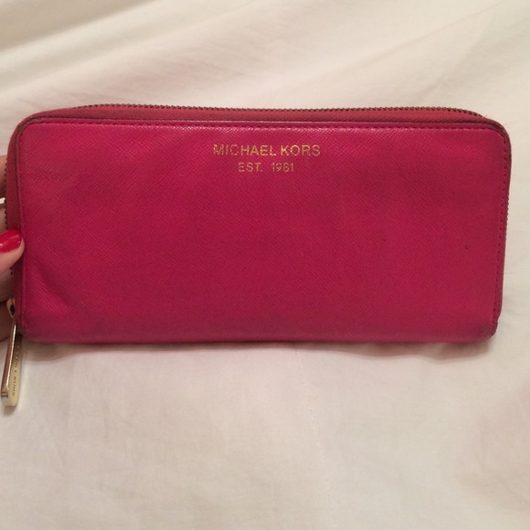 152e4302dd5b1e Buy pink mk wallet > OFF63% Discounted